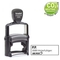 PP-Frankierung Poststempel - Trodat Professional 5203 - 49x28 mm