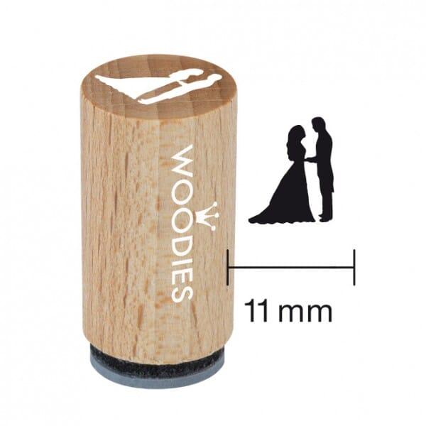 Mini Woodies Stempel - Brautpaar