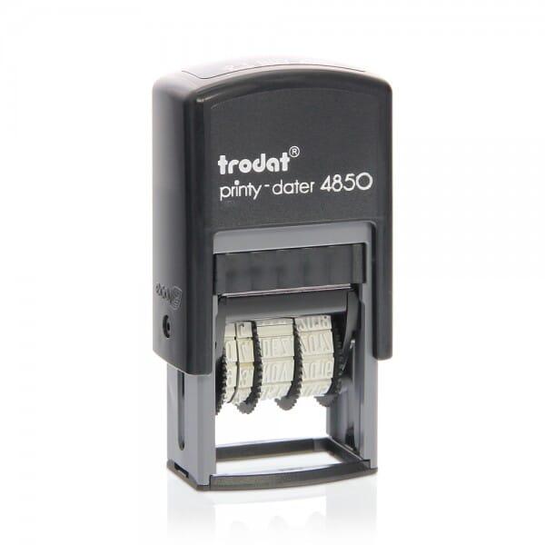 "Trodat Printy Datumstempel 4850/L9 ""GEFAXT"""