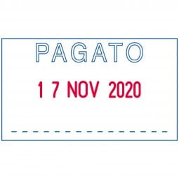 "Trodat Printy Datumstempel 4750/L2 ""PAGATO"""