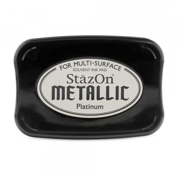Tsukineko - Metallic Platinum Stazon Stempelkissen