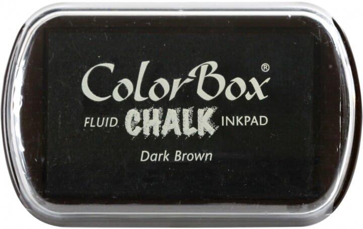 Clearsnap Colorbox - Chalk Dark Brown Stempelkissen