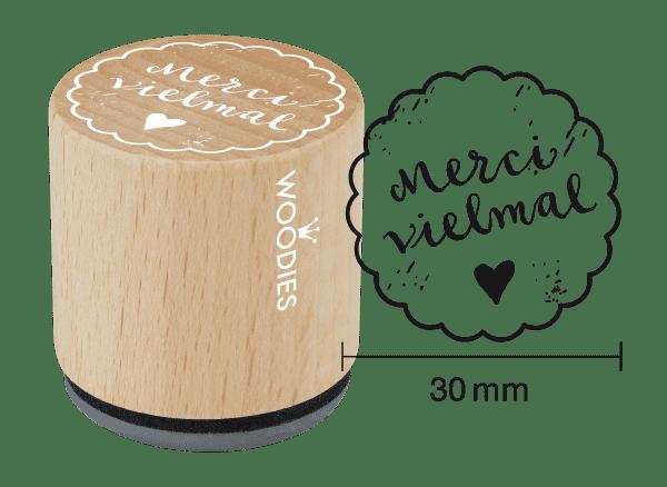 Woodies Stempel - Merci vielmal