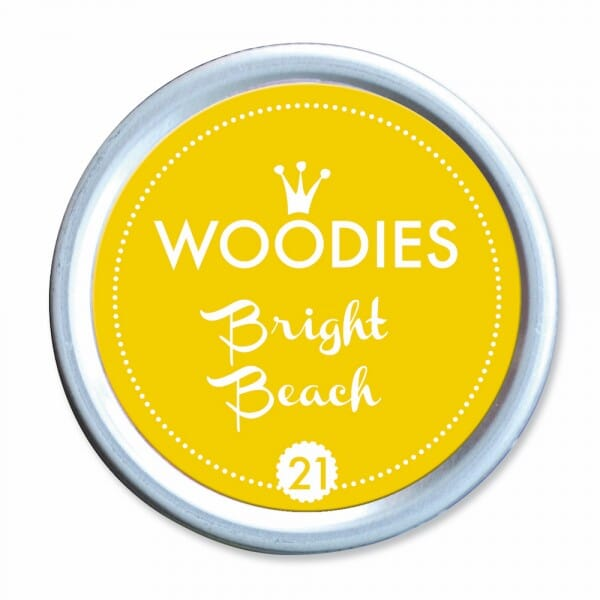 Woodies Stempelkissen - Bright Beach