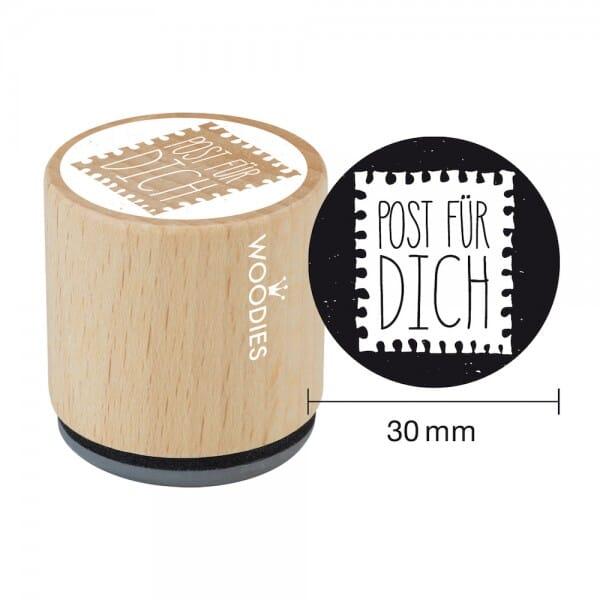 Woodies Stempel - Post für Dich