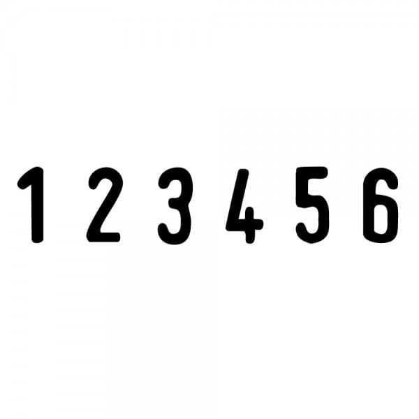 Trodat Printy Ziffernbänderstempel 4846