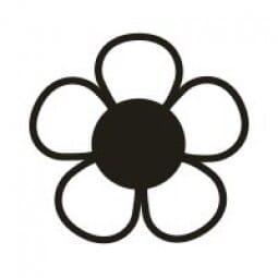 Stemplino Ministempel Blume