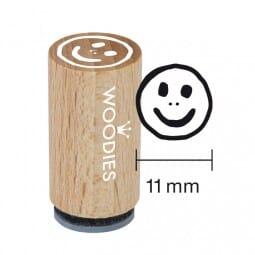 Mini Woodies Stempel - Smiley