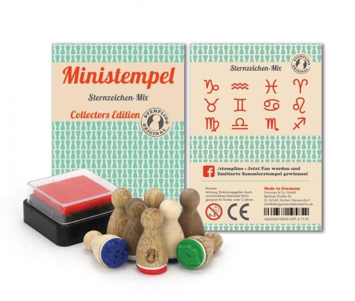 Stemplino Ministempel Sternzeichen-Mix