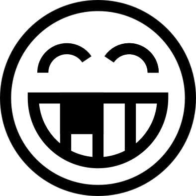 Perma Stempel Holzstempel - Smile 3006