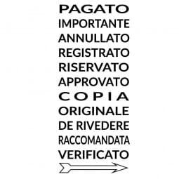 Colop Printer S 220/W (25x4 mm) Italienisch