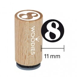 Mini Woodies Stempel - 8
