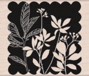 Hero Arts Holzstempel - Blumen und Blätter