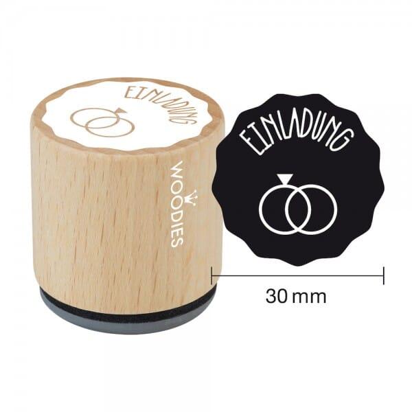 Woodies Stempel - Einladung 2