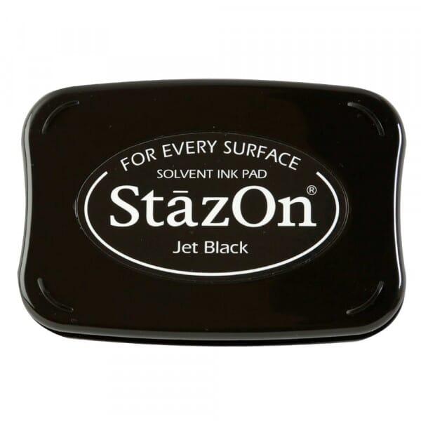 Tsukineko - Jet Black Stazon Stempelkissen