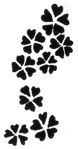 Penny Black Holzstempel - Kleine Blümchen