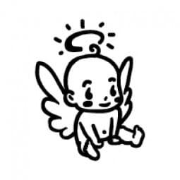 Stemplino Ministempel Baby Engel