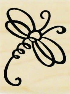 Stampendous Holzstempel - Kleiner Schmetterling