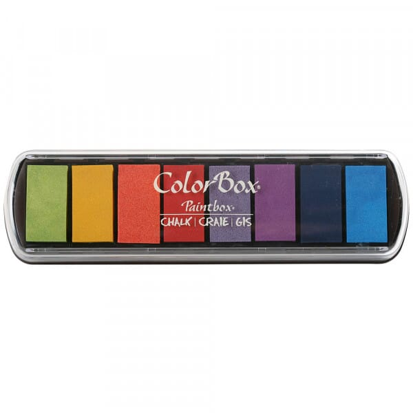 Clearsnap - Colorbox Chalk Paintbox Primary Pastels
