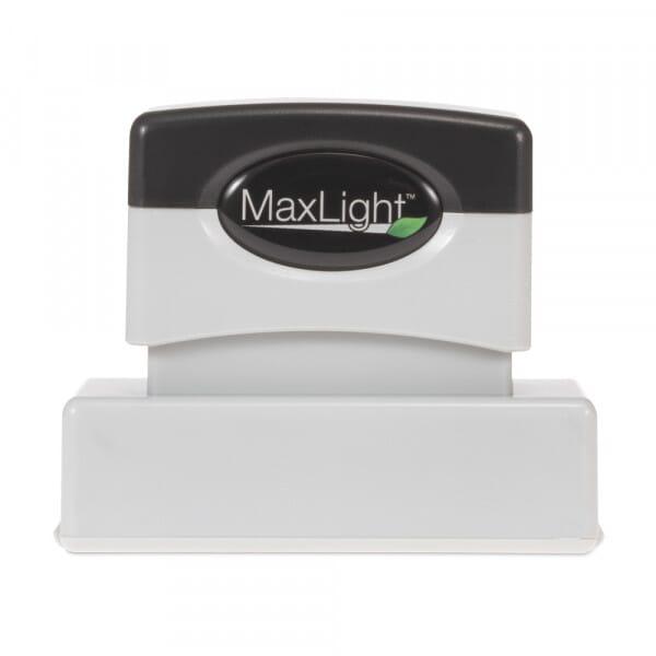 Trodat MaxLight XL2-145 rechteckig - 60 x 15 mm - 4 Zeilen