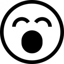 Perma Stempel Holzstempel - Smile 3005