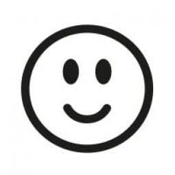 Stemplino Ministempel Smiley