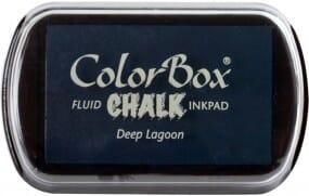 Clearsnap Colorbox - Chalk Deep Lagoon Stempelkissen