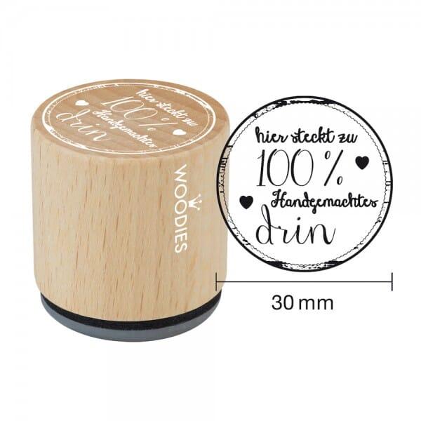 Woodies Stempel - Hier steckt zu 100% handgemachtes drin