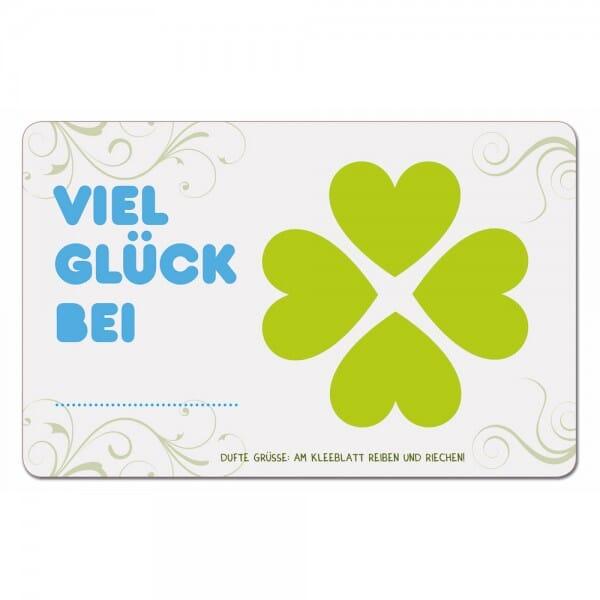 Duftpostkarten - Viel Glück bei