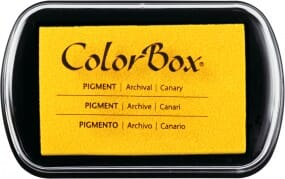 Clearsnap Colorbox - Canary Stempekissen