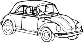 Perma Stempel Holzstempel - VW