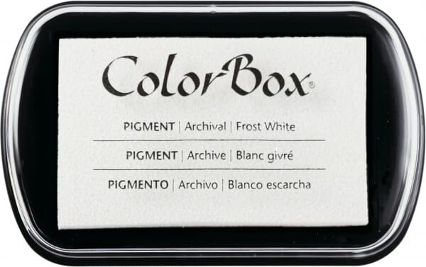Clearsnap Colorbox - Frost White Stempelkissen
