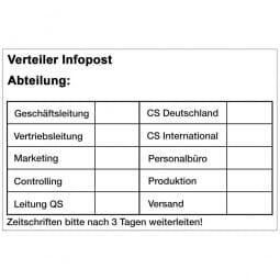 Trodat Professional 5207 - Textstempel - 60 x 40 mm - 9 Zeilen