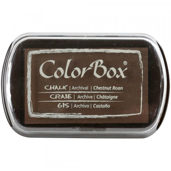Clearsnap Colorbox - Chalk Chestnut Roan Stempelkissen