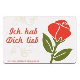 Duftpostkarten - Ich hab Dich lieb