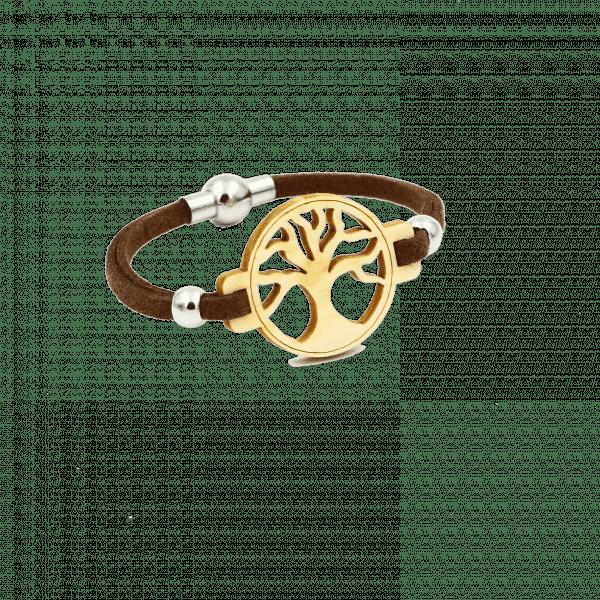 Bracelet - ARBRE DE VIE - Pin suisse / Brun / S