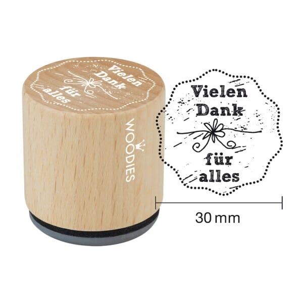 Woodies Stempel - Vielen Dank für alles