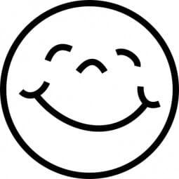 Perma Stempel Holzstempel - Smile