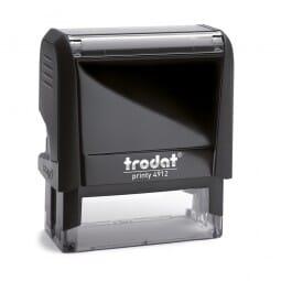 PP-Frankierung Poststempel - Trodat Printy 4912 - 47 x 18 mm - 4 Zeilen