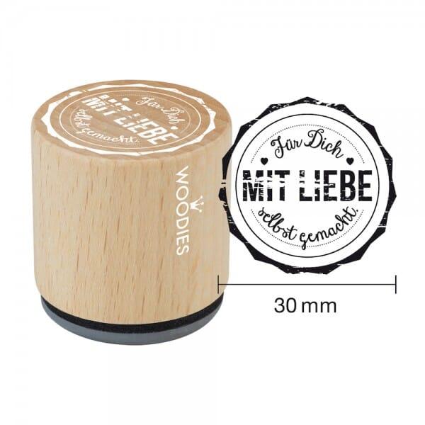Woodies Stempel - Für Dich mit Liebe selbst