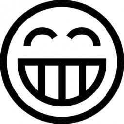 Perma Stempel Holzstempel - Smile 3012