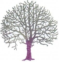 Perma Stempel Holzstempel - Baum