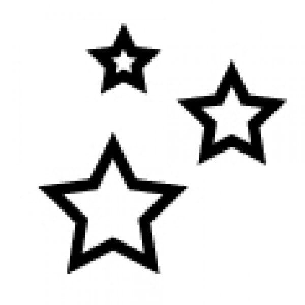 Stemplino Ministempel kleine Sterne