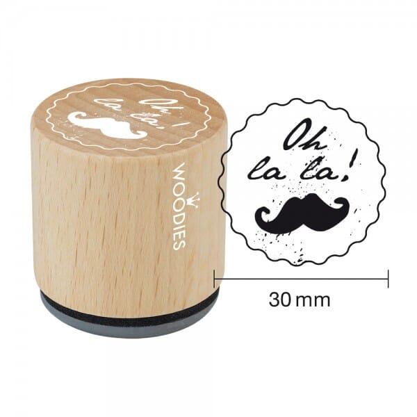 Woodies Stempel - Oh la la!