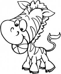 Stampendous Holzstempel - Zebra