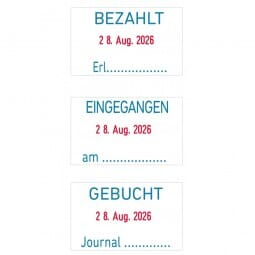 Trodat Professional Datumstempel 5430/L Deutsch