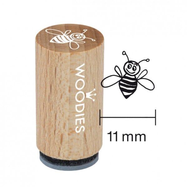 Mini Woodies Stempel - fleissige Biene