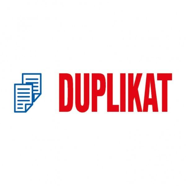 "Trodat Office Printy Textstempel ""Duplikat"""