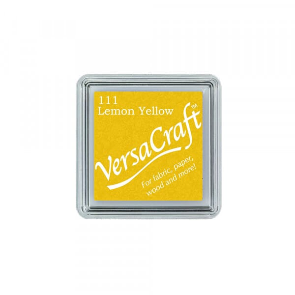 Tsukineko - Lemon Yellow Versacraft - Stempelkissen klein