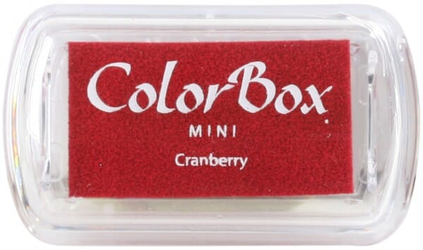 Clearsnap - Colorbox Mini Inkpad Cranberry